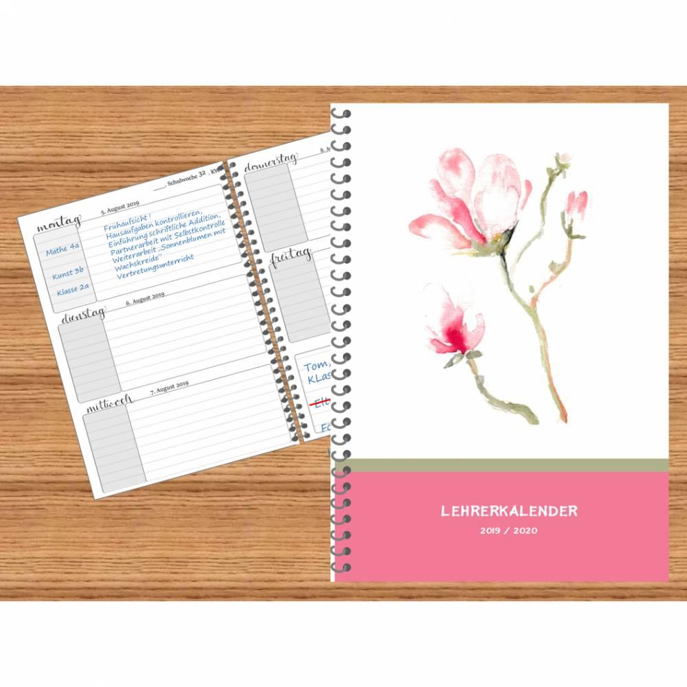 Lehrerkalender, Kalender, Schulplaner 2020 / 21 Bild 1