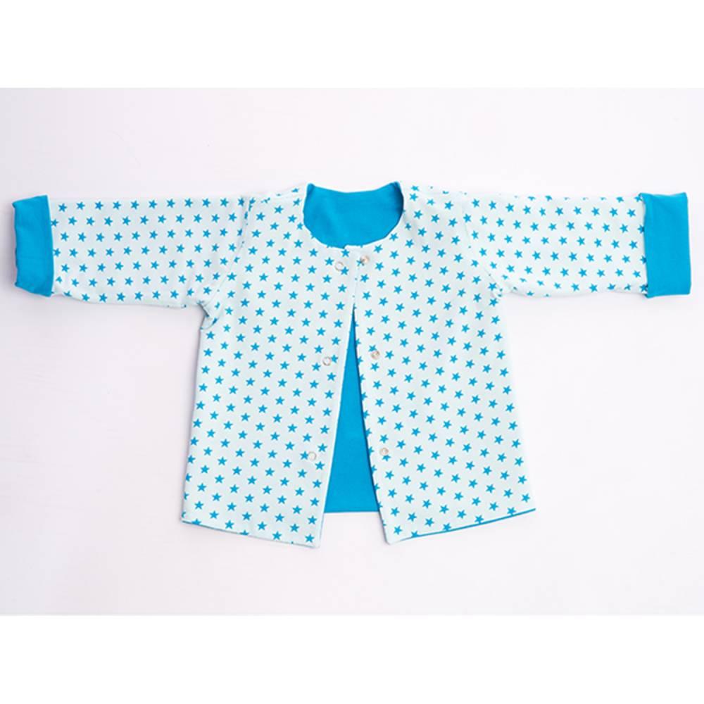 Baby und Kinder Jacke Schnittmuster pdf für Junge + Mädchen mit Druckknöpfen + Armumschlag, gefüttert und wendbar FLAVIO von Patternforkids Bild 1