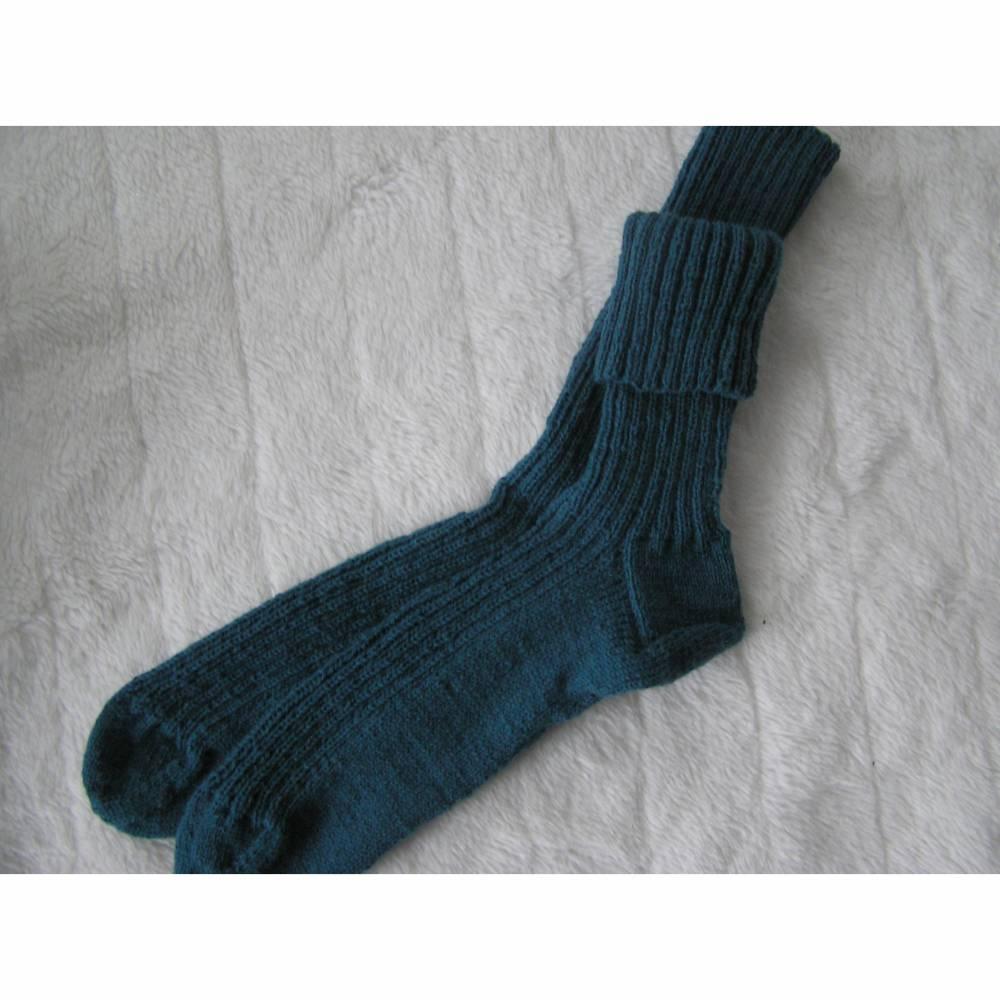 Socken - Gr. 48 - reine Handarbeit Bild 1