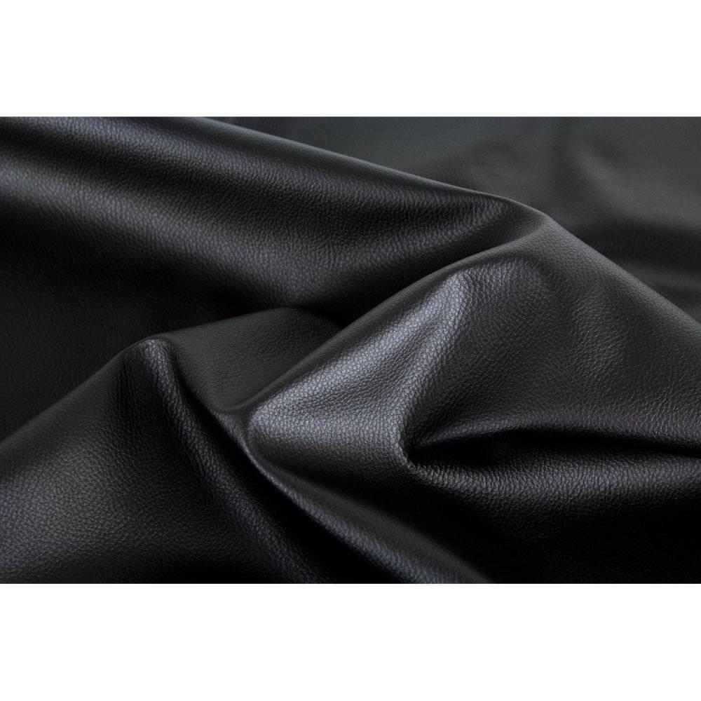 Kunstleder Rex 299 - schwarz Bild 1