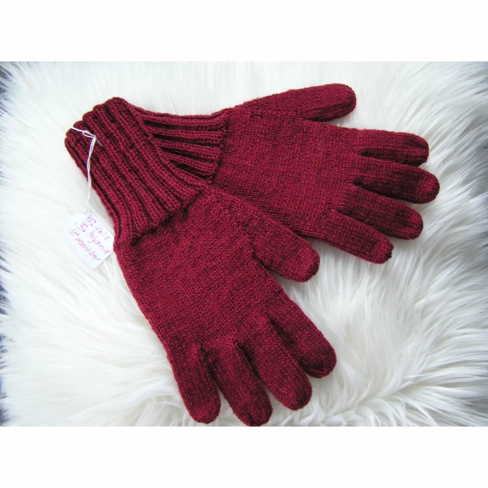 Fingerhandschuhe - Gr. L - reine Handarbeit Bild 1