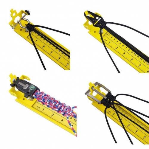 Jig / Knotenhilfe / Knüpfbrett für Paracord etc. ca. 80 cm lang