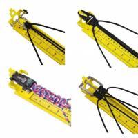 Jig / Knotenhilfe / Knüpfbrett für Paracord etc. ca. 80 cm lang Bild 1