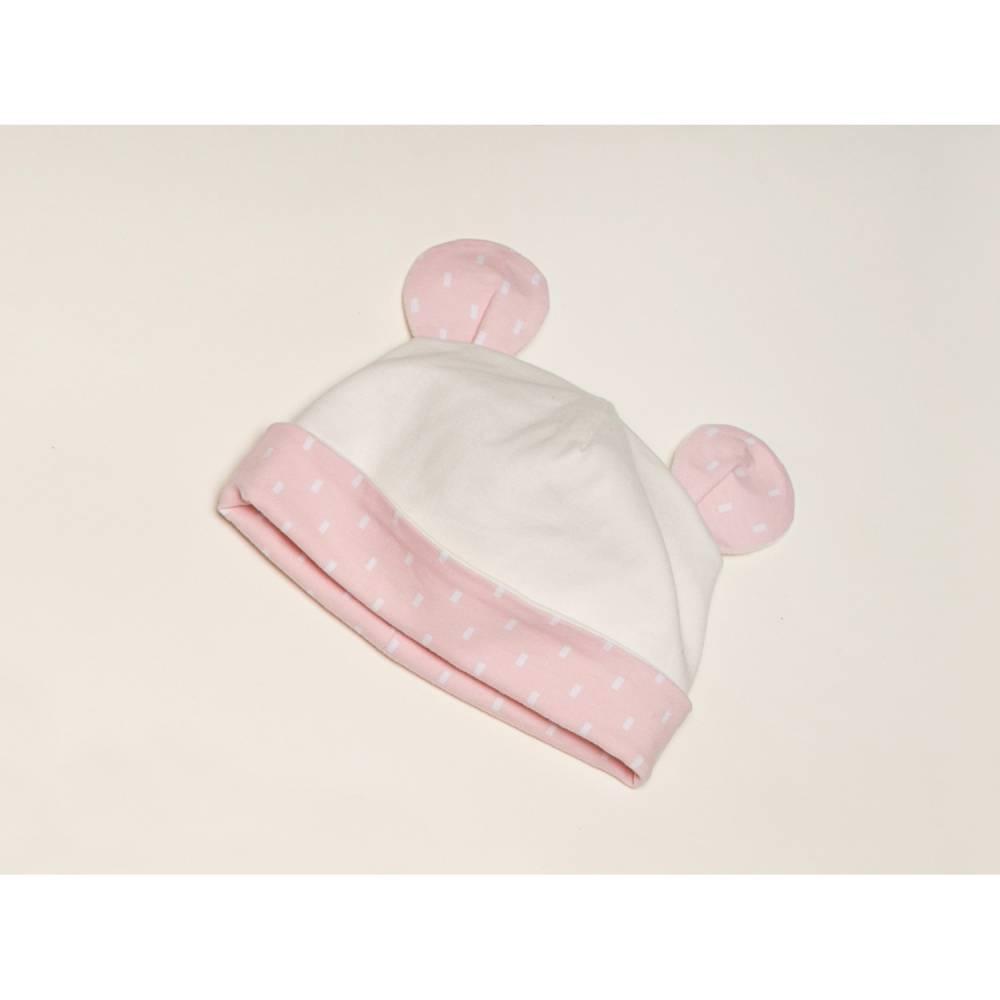 Baby Mütze Schnittmuster pdf für Junge + Mädchen, Beanie, Käppi, Kopfbedeckung, für Anfänger + in 3 Modellvarianten ORSO von Patternforkids Bild 1