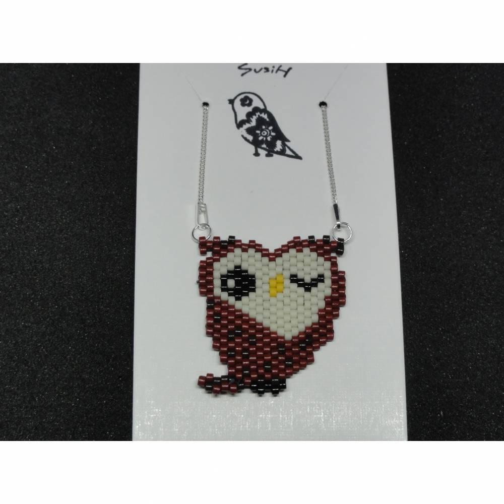 Halskette Eule Bild 1