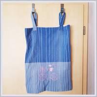 Wäschebeutel, Wäschesack, Kleidersack, 50 x 67 cm, mit Schlaufenaufhängung von 15 cm, Unikat,  Bild 1