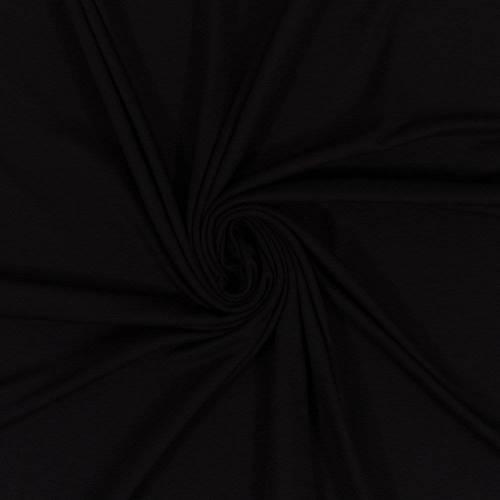 Viskose Jersey Ella schwarz