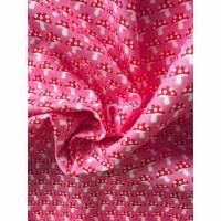 Baumwollstoff kleiner Fliegenpilz, rosa