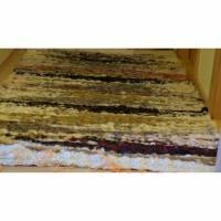 """Handgewebter Teppich aus Schurwolle """"Farben 2/5"""" Bild 1"""
