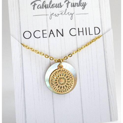 Ocean child - PERLMUTT LOVE - GOLD