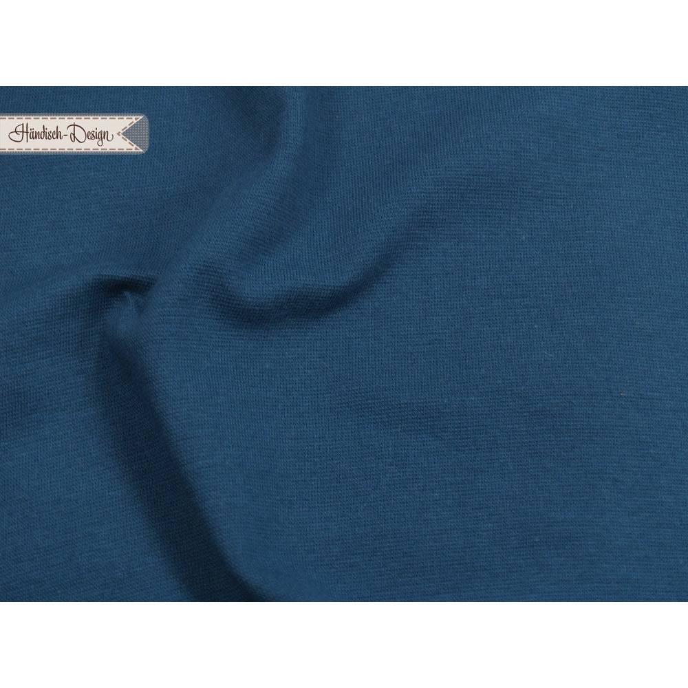 Bündchen glatt admiralsblau Stoffalux Bild 1