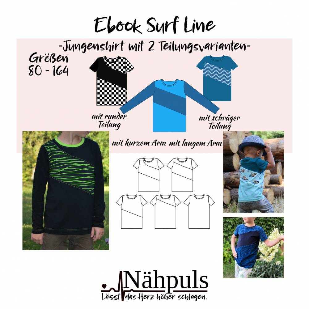 Ebook Surf Line Boy Gr. 80 - 164 Bild 1