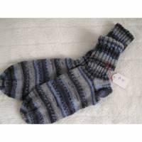 Socken - Gr. 45 - reine Handarbeit Bild 1