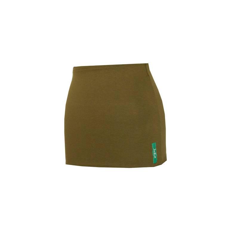 Bauchband oliv, Yogaband, Bauchtuch, Shirtverlängerung, Bauchbänder Bild 1
