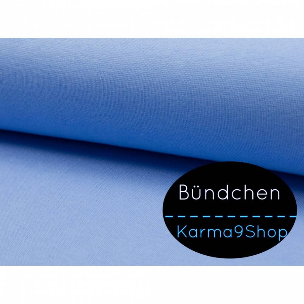 0,5m Bündchen eisblau #Q23 Bild 1