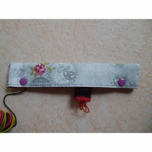 Nadelgarage, Nadelsafe, Nadelspiel Garage, Nadelspiel Safe, Nadeltasche für 20 cm lange Sockennadeln,