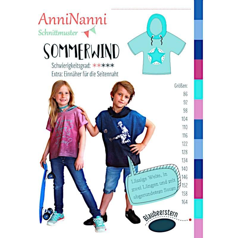 """Schnittmuster Anni Nanni """"Sommerwind"""" Bild 1"""