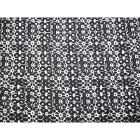 Viskosestoff Viskose Blusenstoff grau weiß Batik Batikoptik Stoff, weich fallender fließender Viskosestoff, Meterware Bild 1