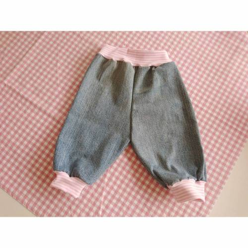 Pumphose Mitwachshose Krabbelhose Jeans 68-74