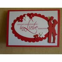 Glüchwunschkarte zur hochzeit hochzeitskarte ,Grusskarte,Karte,Hochzeit, Bild 1