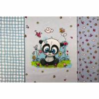 Kinder Panel-Set incl. 2 Kombistoffe  Bild 1
