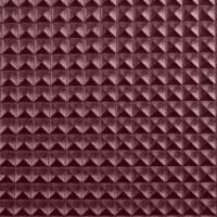 Taschenstoff,Lederimitat, Kunstleder Xenia, Nietenoptik, 8 mm, brombeere (1m/14,-€) Bild 1