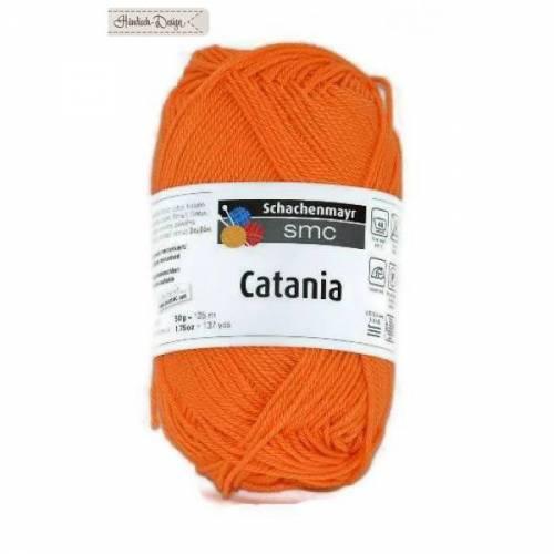 50g (5EUR/100g) Catania Baumwolle Garn Schachenmayr orange 281