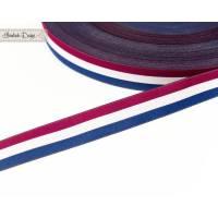 10m (2,30EUR/m) Fahnen-Webband blau/weiß/rot Frankreich Bild 1