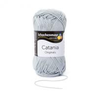 Catania Baumwolle Garn Schachenmayr silber 172
