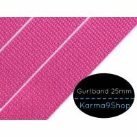 Gurtband 25mm pink Bild 1