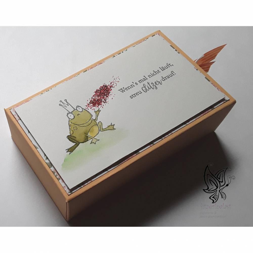 Geschenkverpackung Glitzer Bild 1