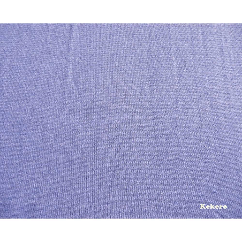 Bündchen blau meliert melange mittelblau Feinstrick Bündchen Bild 1