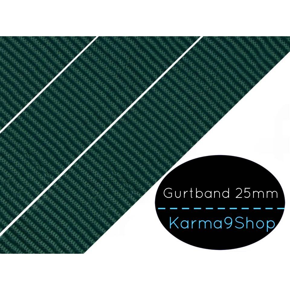 Gurtband 25mm tannengrün Bild 1