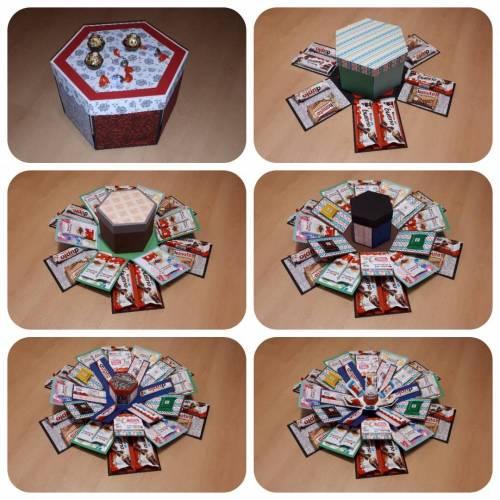 Explosionsbox für Süßigkeiten - Plotterdatei