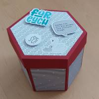 Explosionsbox für Süßigkeiten - Plotterdatei Bild 2