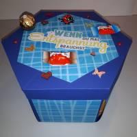 Explosionsbox für Süßigkeiten - Plotterdatei Bild 5