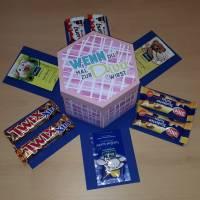 Explosionsbox für Süßigkeiten - Plotterdatei Bild 6