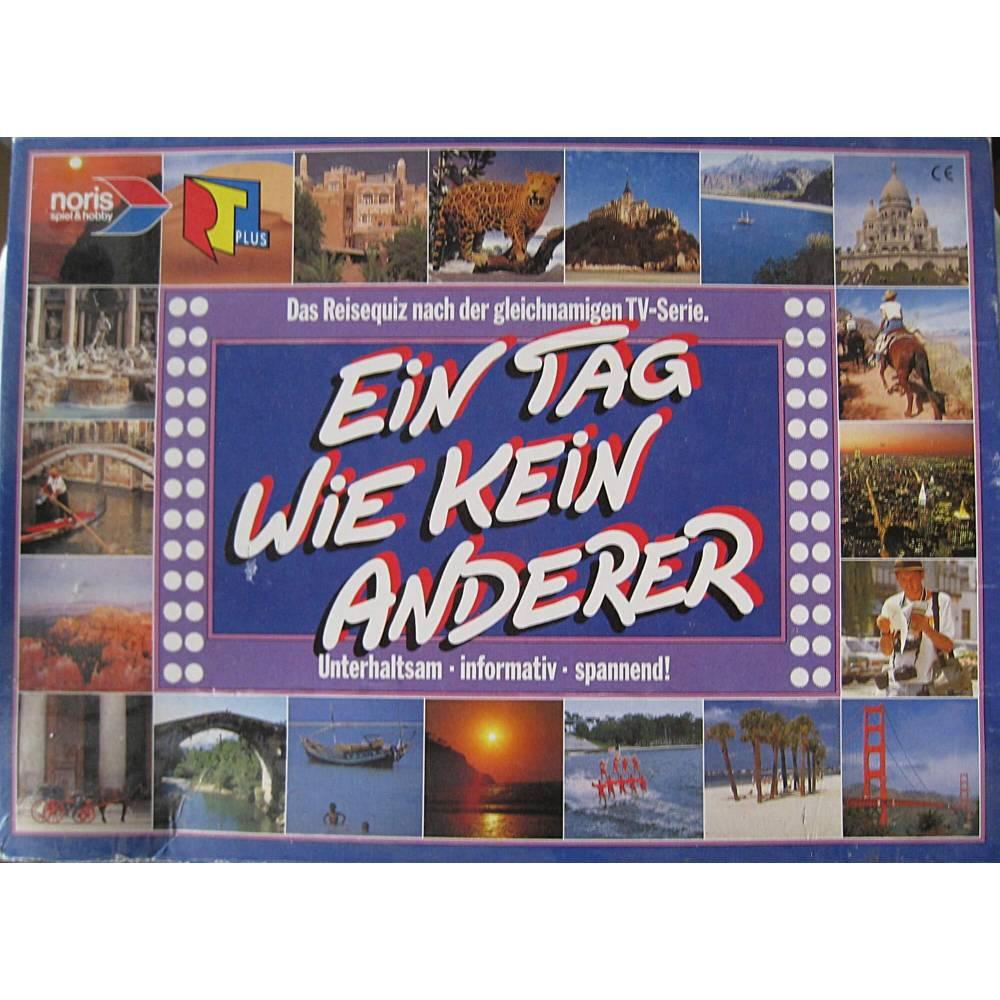 vintage, Brettspiel EIN TAG WIE KEIN ANDERER Das Reisequiz von Noris Spiele, Bild 1