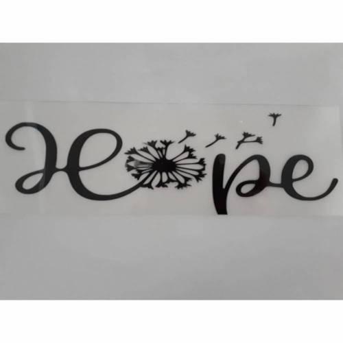 Bügelbild Hope