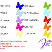 Hochzeitskutsche - Autotattoo Set in Wunschfarbe - Hochzeitsaufkleber - Hochzeitsdeko - Hochzeitsdekoration Bild 3