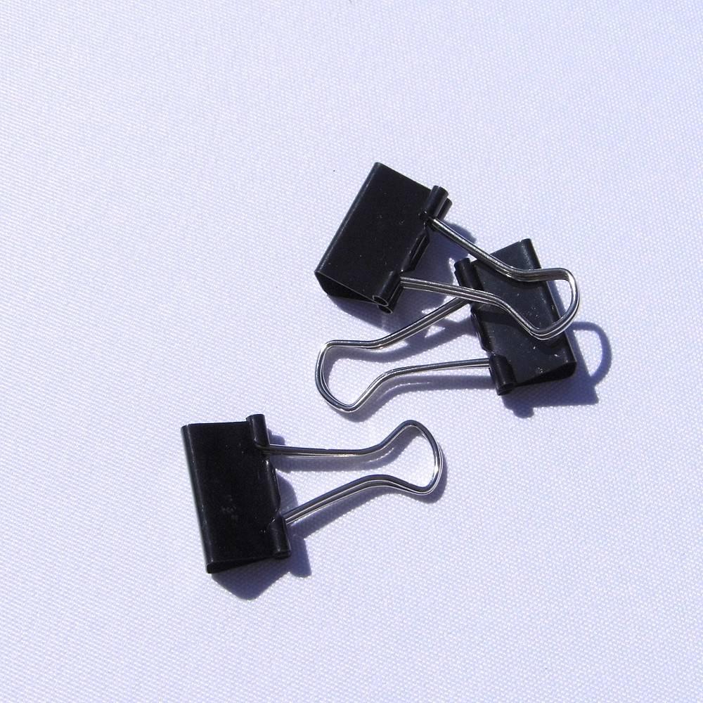 Foldbackklammern 24 Stück Metallklammern Klemmen Clips Bild 1