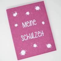 Zeugnismappe / Dokumentenmappe Wunschtext Bild 1