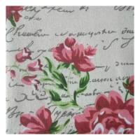 Patchwork Stoff 50 x 70 cm Motiv: FASHION FLOWER Bild 1