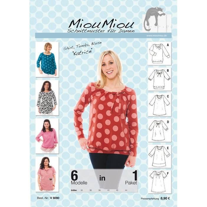 Miou Miou Schnittmuster Shirt,Tunika Katrice Bild 1