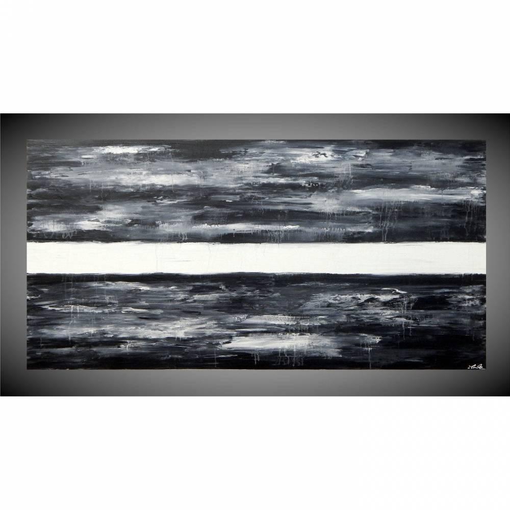 Grosses Acrylbild Auf Leinwand Acrylbild Abstrakt