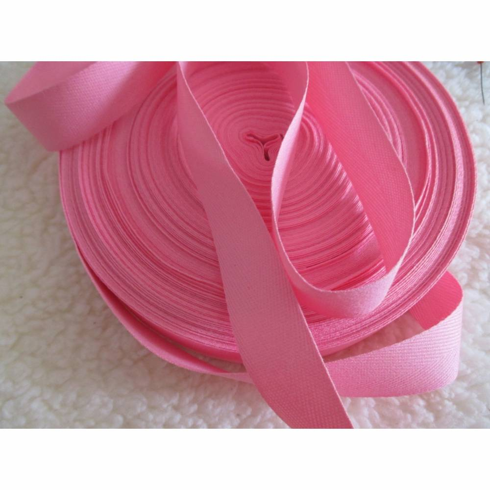 1m Köperband,Nahtband, Breite 20 mm, rosa (1m/0,50€) Bild 1