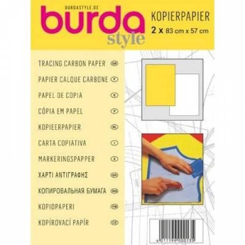 Burda Kopierpapier weiß/gelb