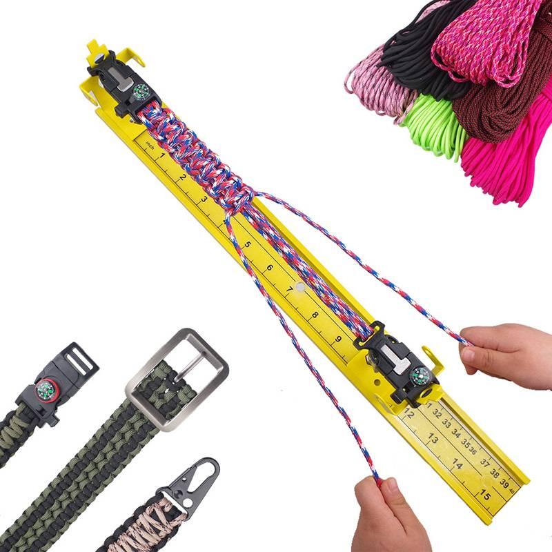 Makramee - Armband - Werkzeug - Jig Bild 1