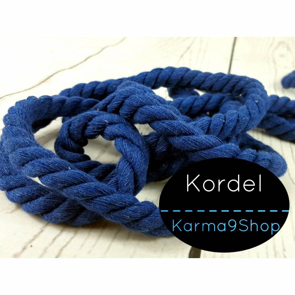 XXL Kordel blau Bild 1