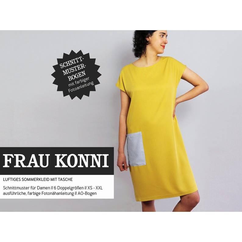 Studio Schnittreif -Schnittmuster FRAU KONNI • luftiges Sommerkleid mit Tasche  Bild 1